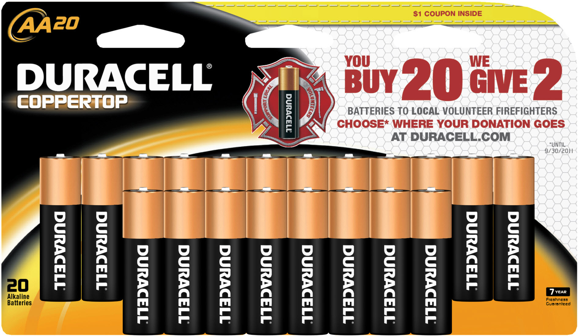 Duracell Power Those Who Protect Us