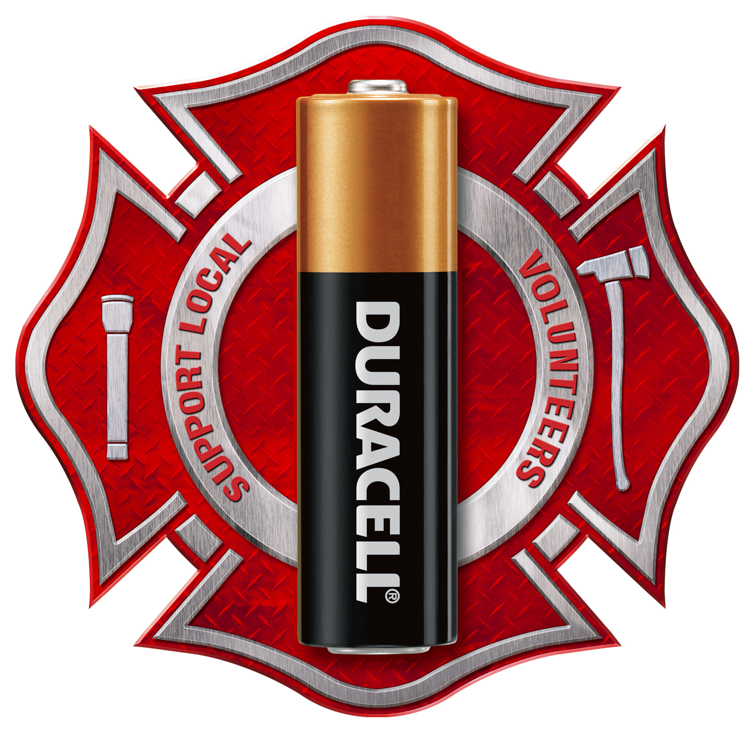 Duracell Volunteer Firefighter logo