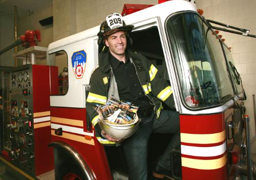 Kurt Warner Volunteer Firefighter